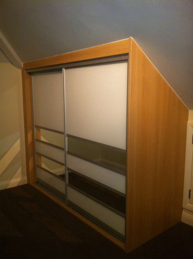 Sliding Wardrobes With Angled Doors